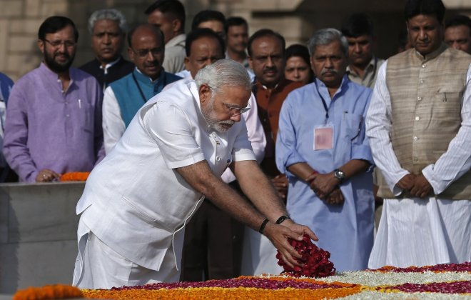 Narendra Modi Sworn In as the 15th Prime Minister of India (Pictures)