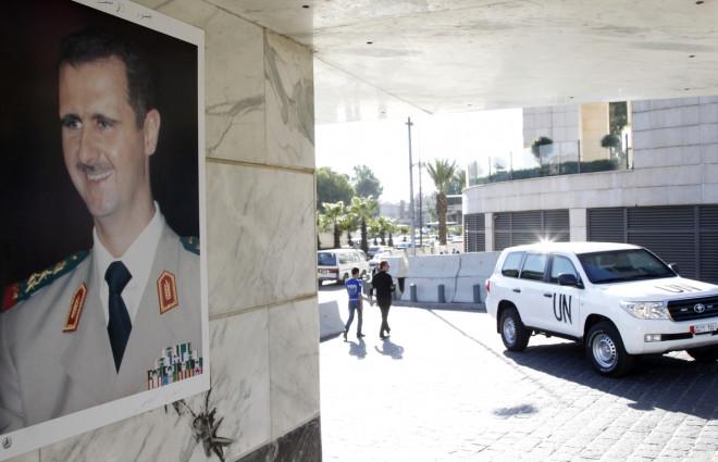 Syria UN Abducted