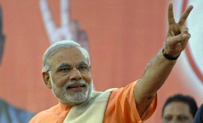 Narendra Modi Takes Charge as India's Prime Minister
