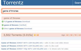 Torrentz.eu is back up