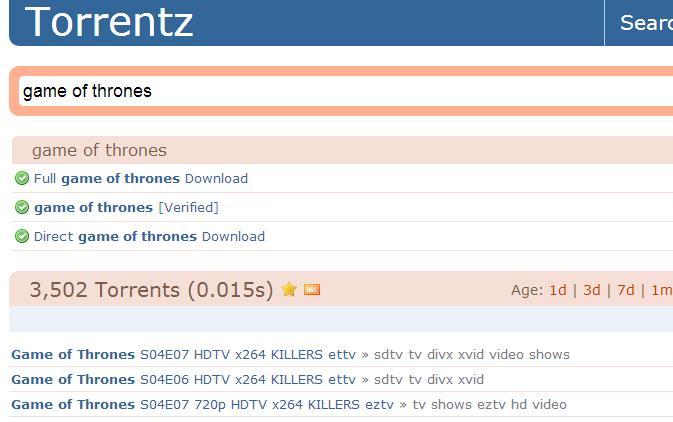 UK Piracy Crackdown Falls Short as Torrentz eu Comes Back Online
