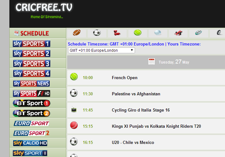 Cricfree.Tv