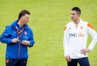 Robin van Perse and Louis van Gaal