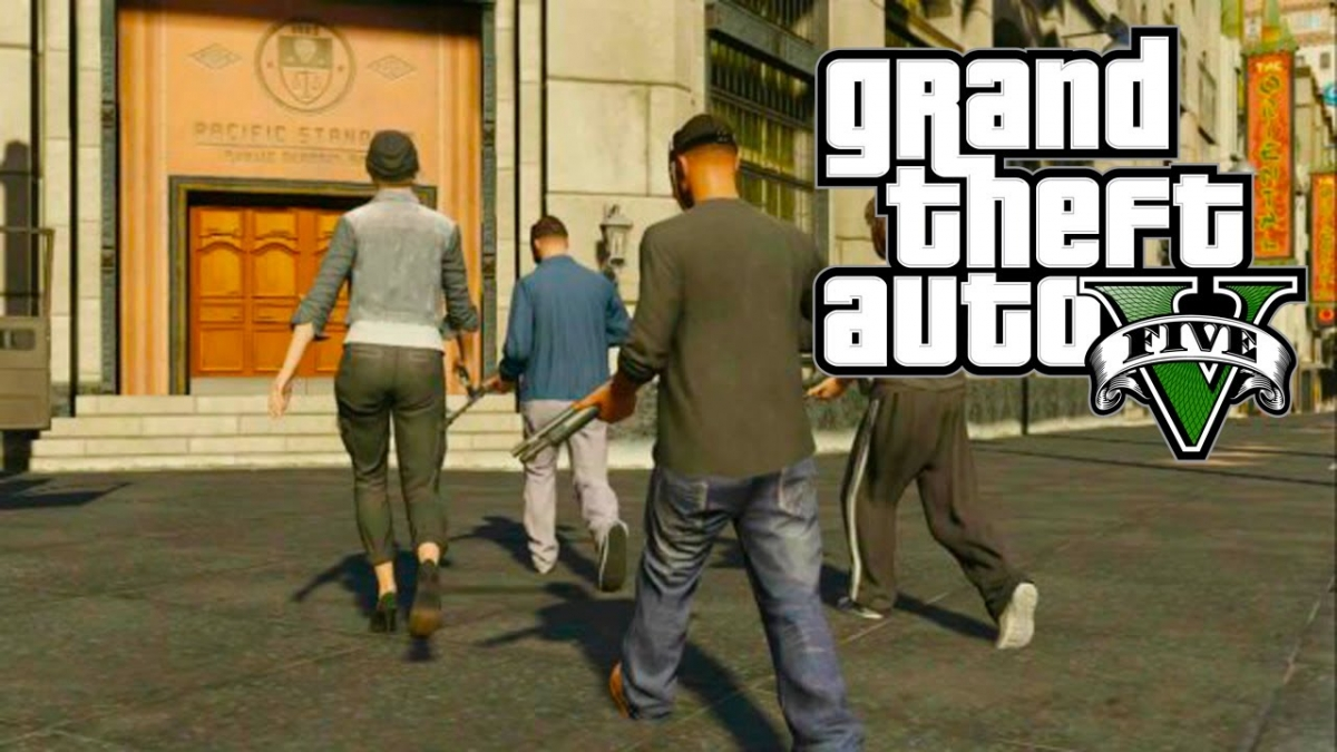 GTA 5 Heist DLC: Leaked DLC Weapon Images Reveal Knife, Scar Rifle, .44 Pistol and More