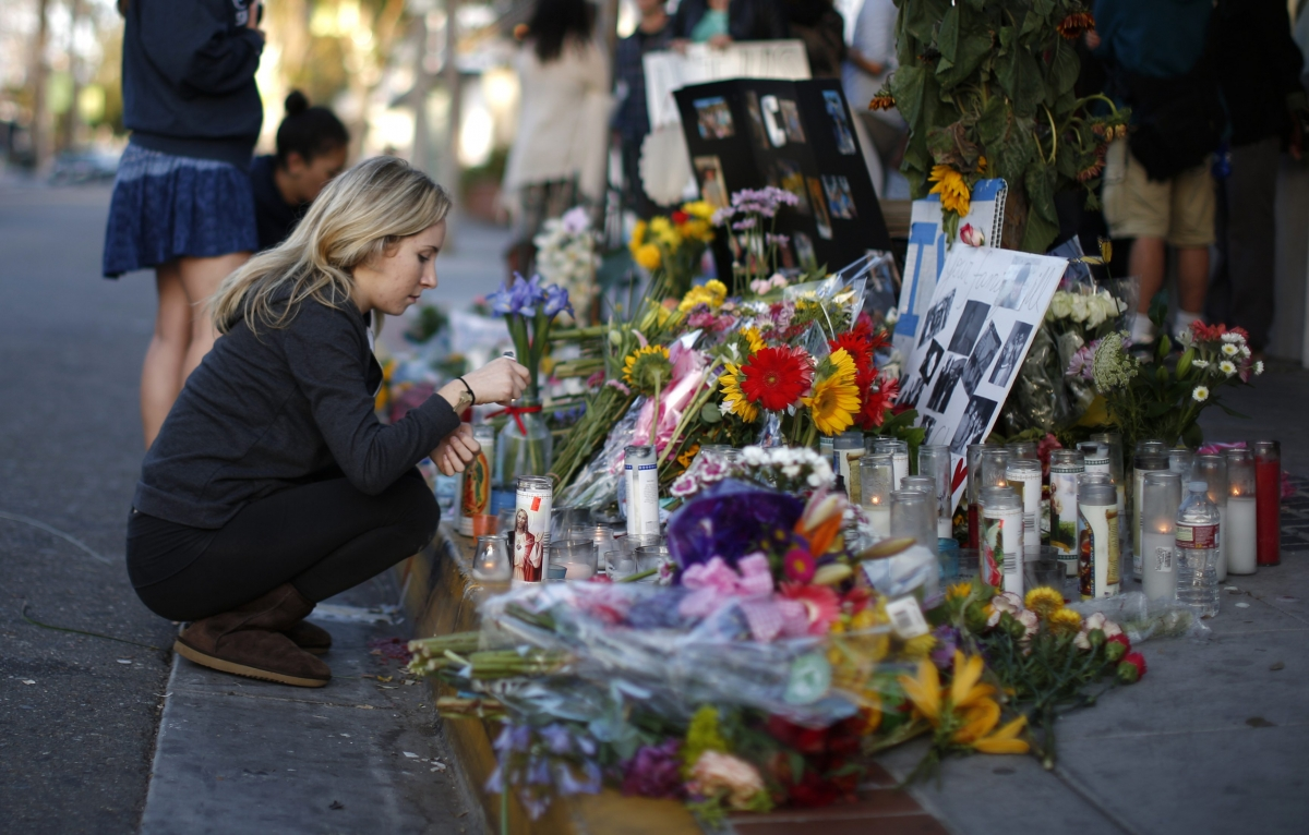 Sombre Vigils Honour California Killing Spree Victims