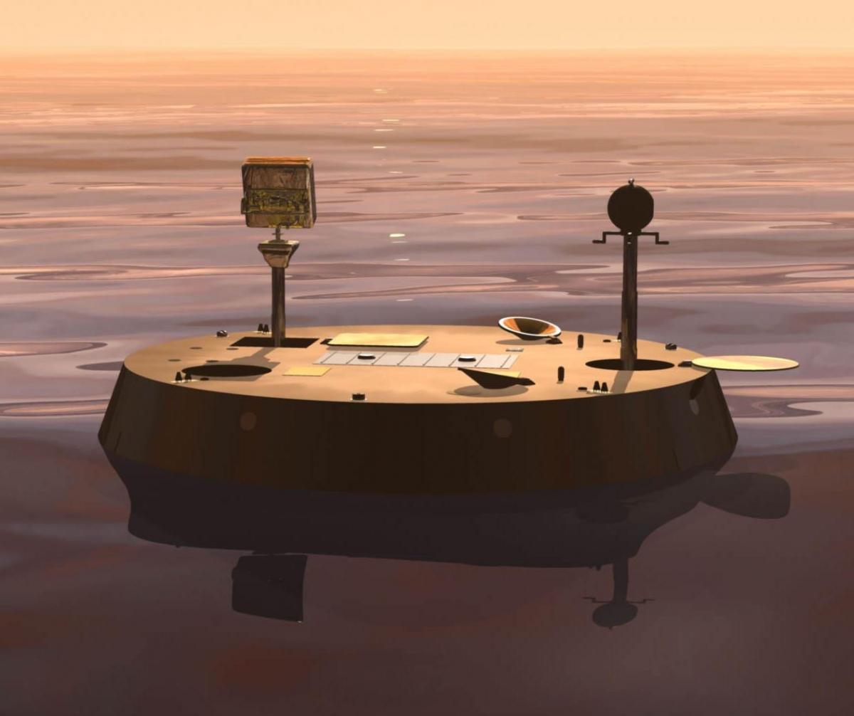 Dr Ellen Stofan's vision for TiME, a boat lander for Titan, Saturn's largest moon
