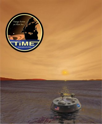 Voyage across an alien sea - the TiME mission's tagline