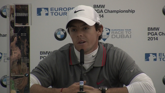 Rory McIlroy Discusses his Surprise Win at Wentworth