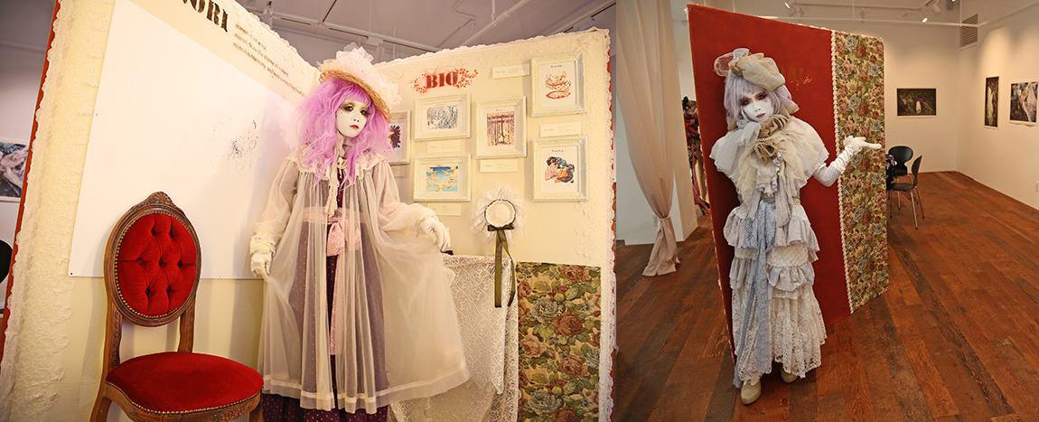 Shironuri - Minori's exhibitions