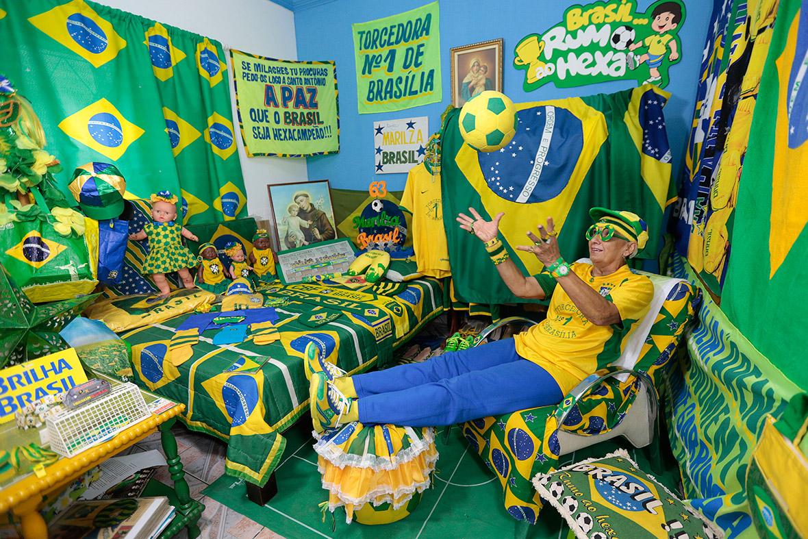 world cup fan