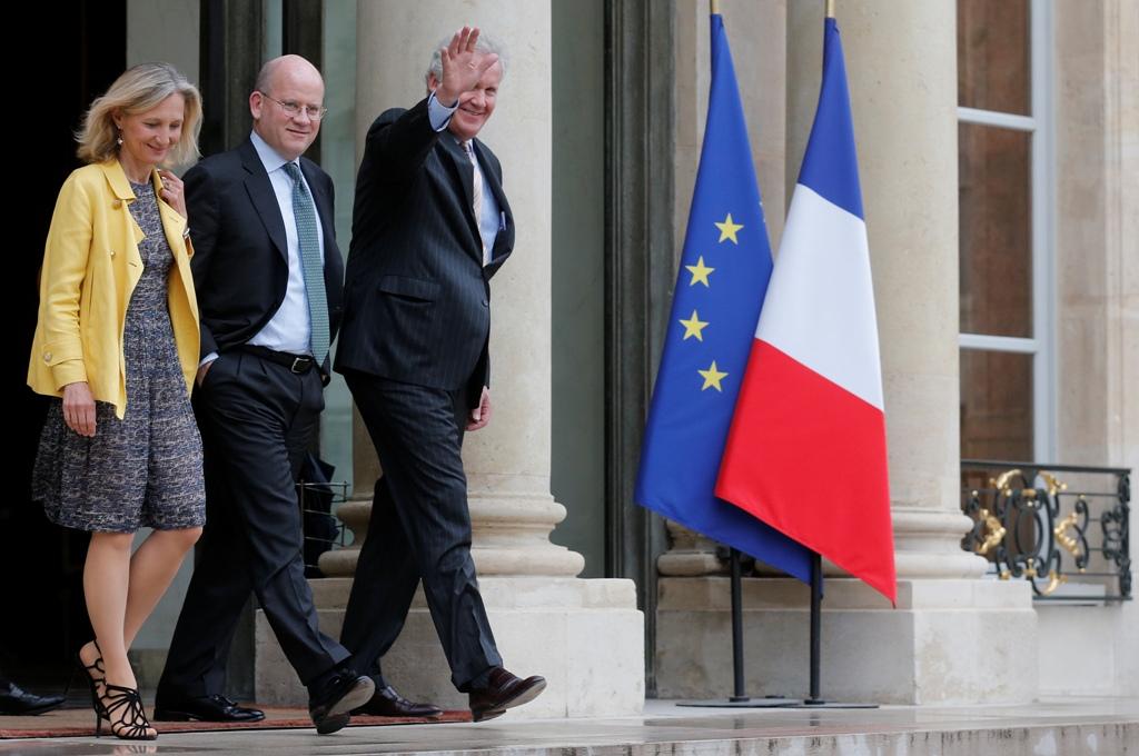 GE Executives Meet Hollande