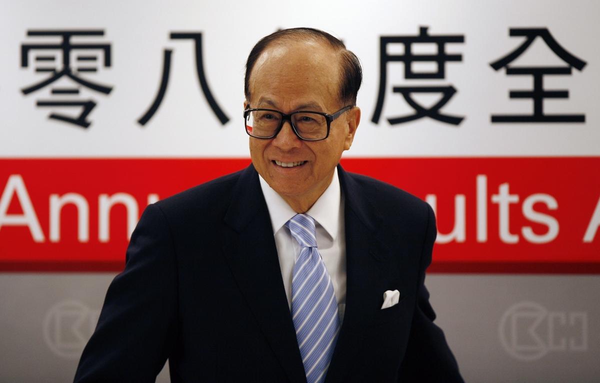 Hutchison Whampoa Chairman Li Ka-shing