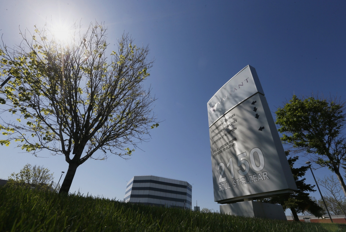 The head offices of Valeant Pharmaceuticals International Inc