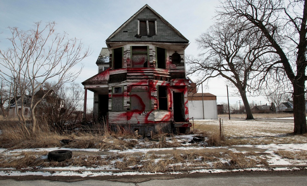 Detroit Blighted Home