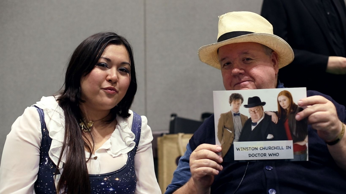 Ian McNeice on his role as Churchill in Doctor Who