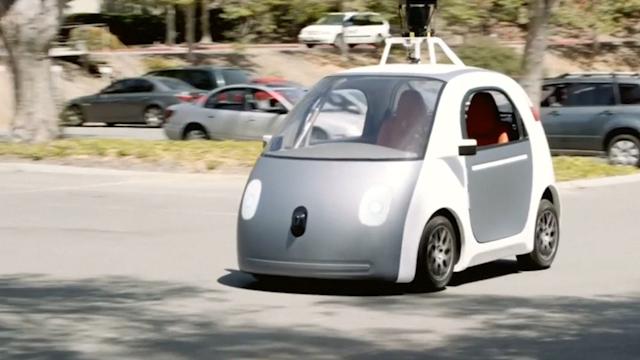 Google Unveils Driverless Car Prototype