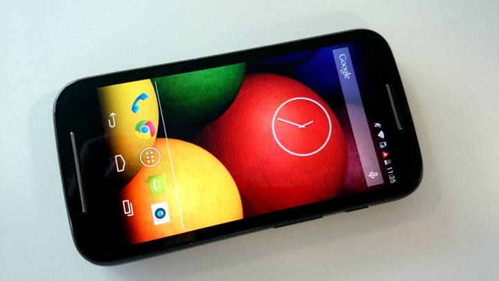 moto e screen
