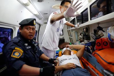 polieman injured