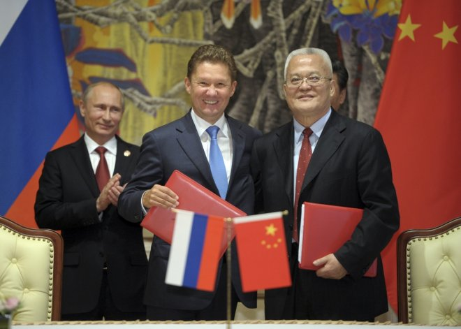 Russia China gas deal