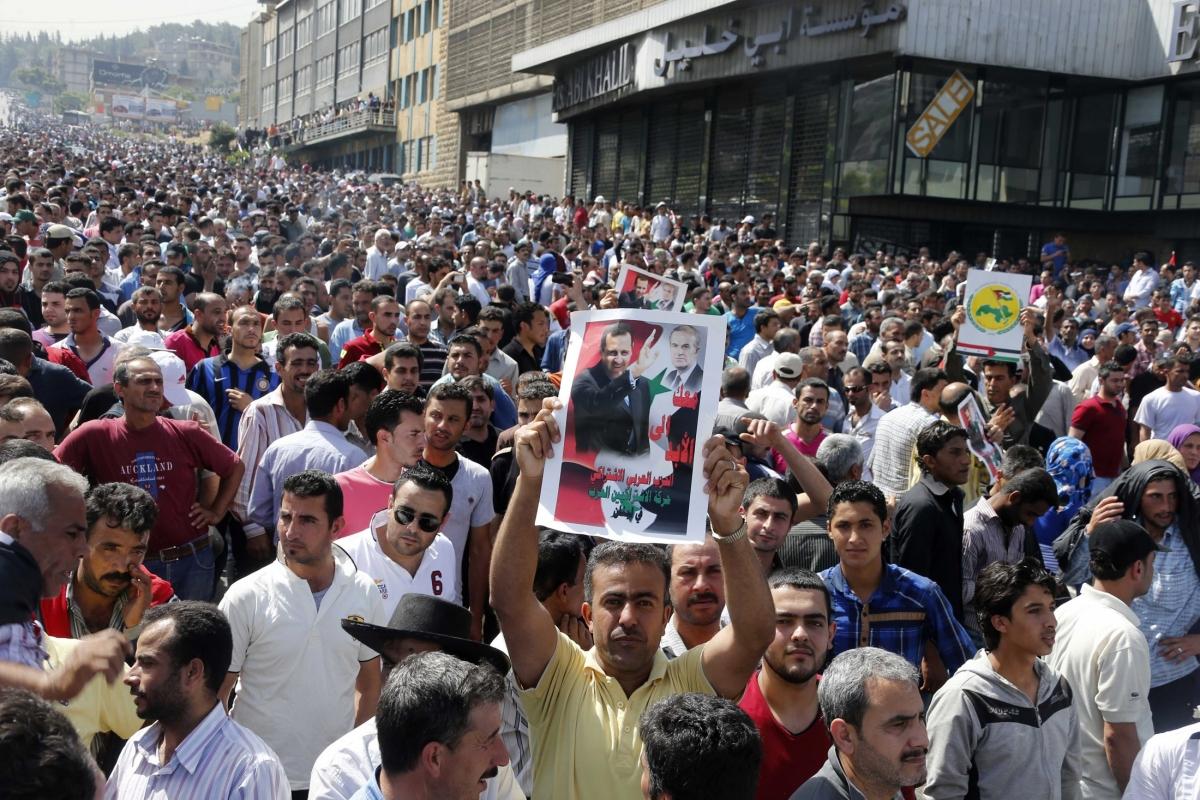 Syria Election Lebanon