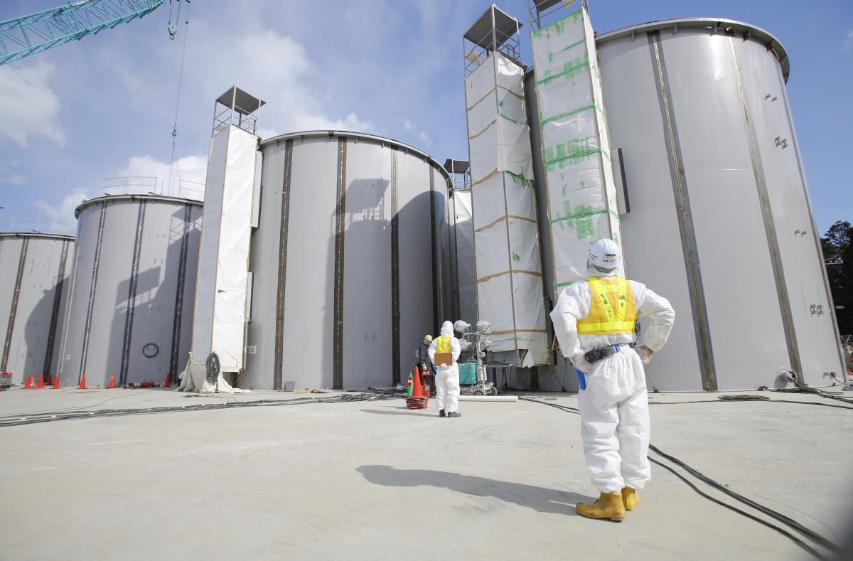 Fukushima Ice wall