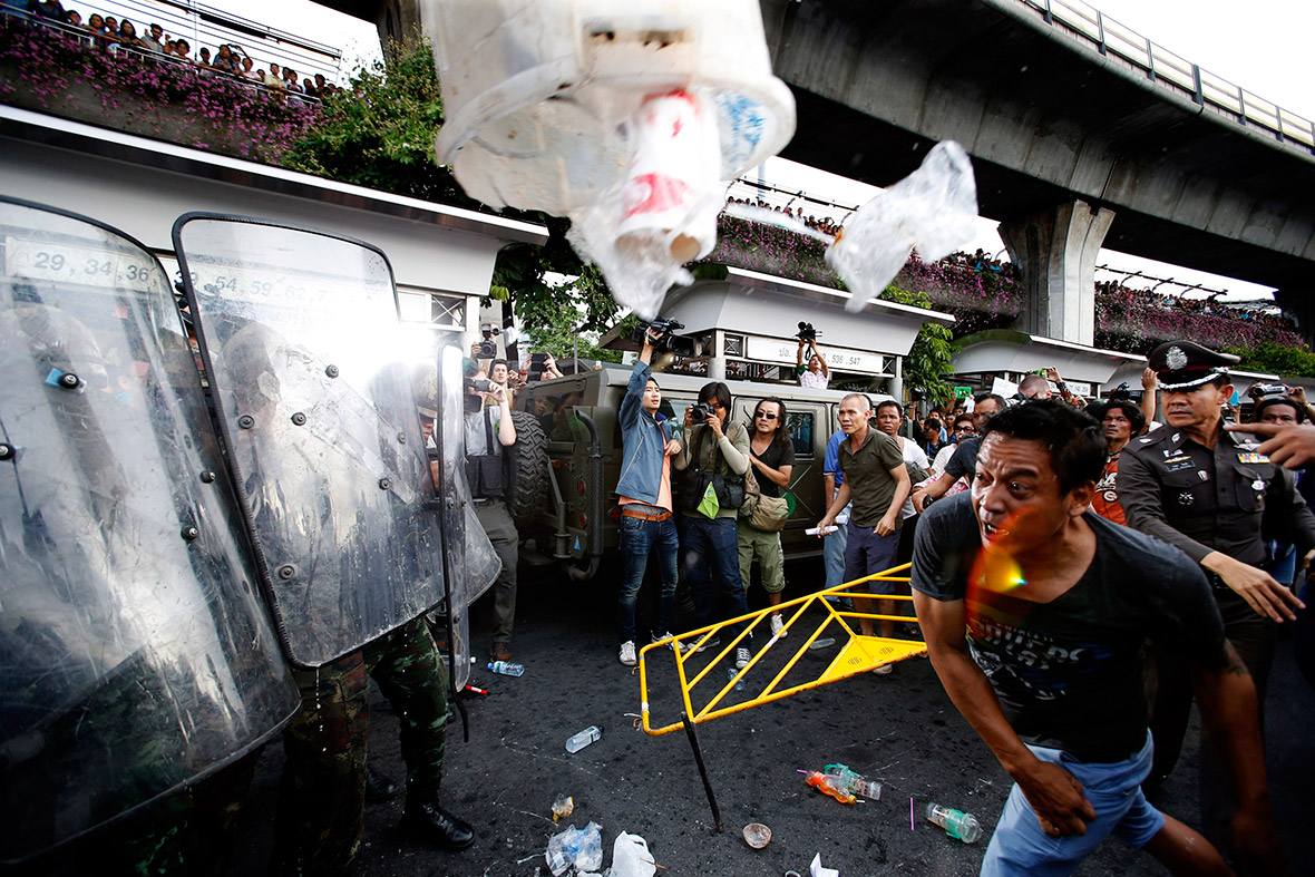 thailand coup protests