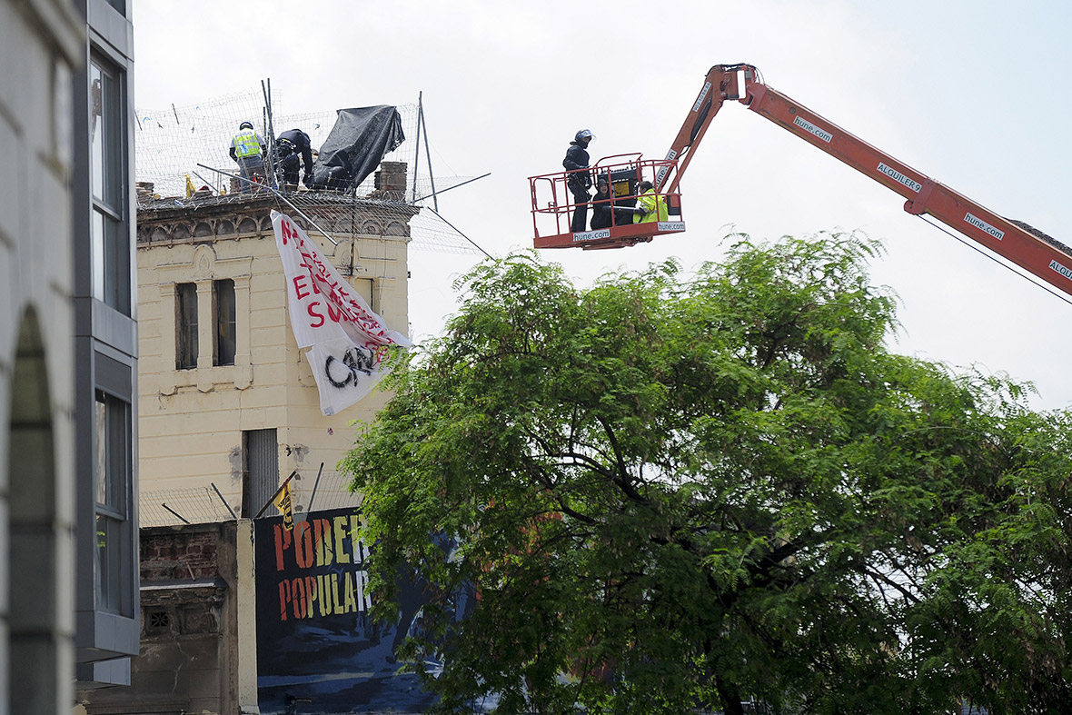 Barcelona Can Vies crane