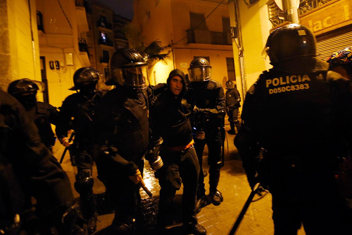 Barcelona Can Vies arrest