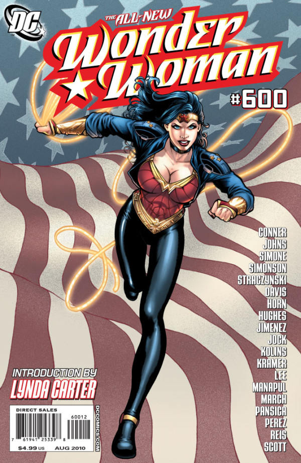 The All-New Wonder Woman #600 cover
