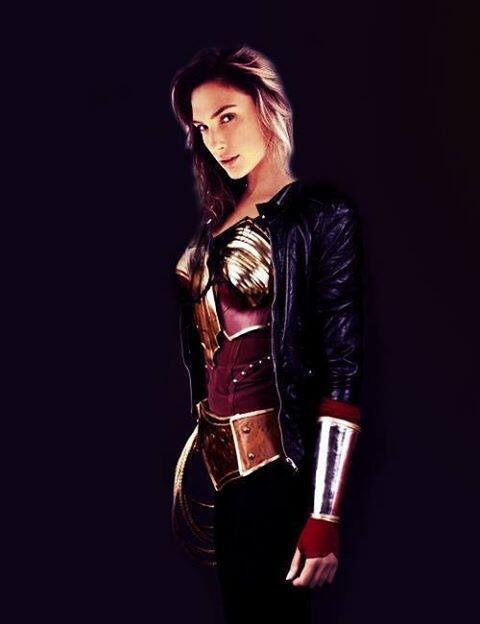 Fan made version of Gal Gadot as Wonder Woman