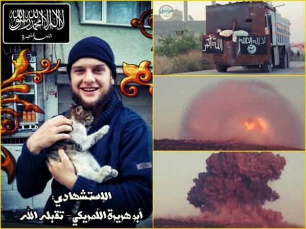 US Jihadist Abu Hurayra al-Amriki is First American Suicide Bomber in Syria