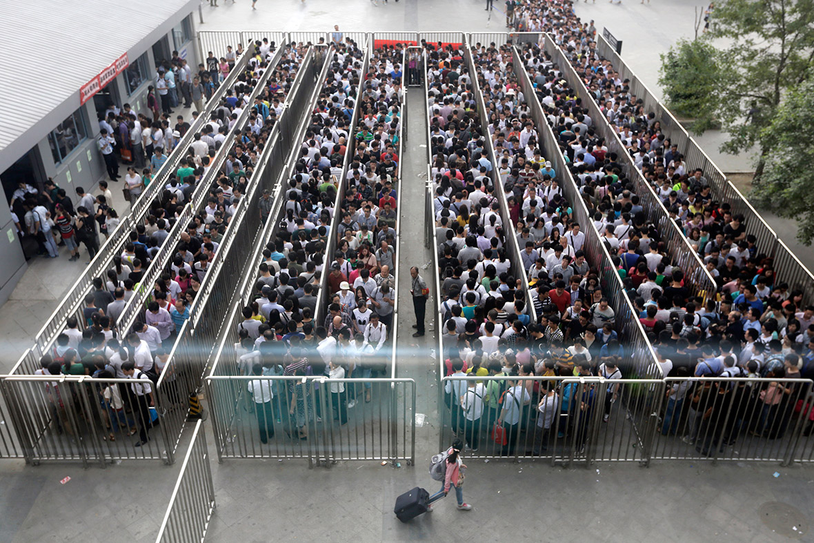 china train security