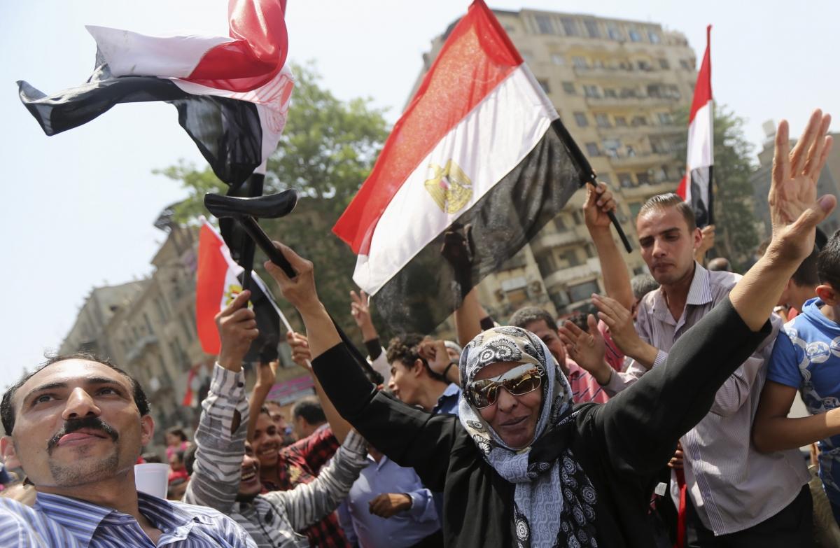 Tahrir celebrates Sisi victory