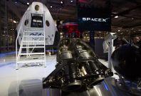 Elon Musk SpaceX Dragon V2 engines