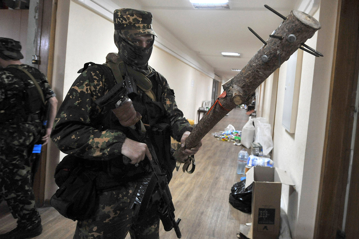 Pro-Russian militia eastern Ukraine club