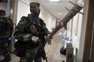Pro-Russian militia eastern Ukraine club