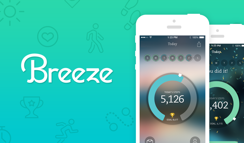 Breeze App from Runkeeper