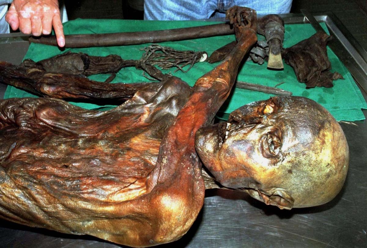 Ötzi, the Tyrolean Iceman