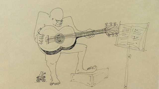 John Lennon's Sketches Up For Auction