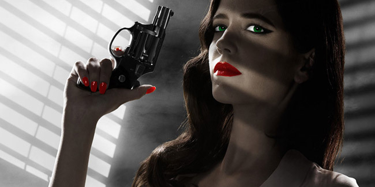 Eva Green Sin City: A Dame To Kill For poster