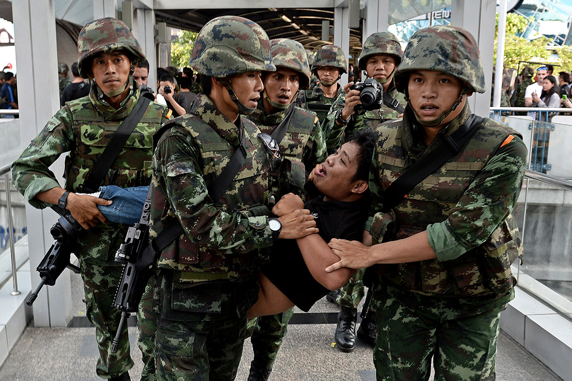 thailand coup protester