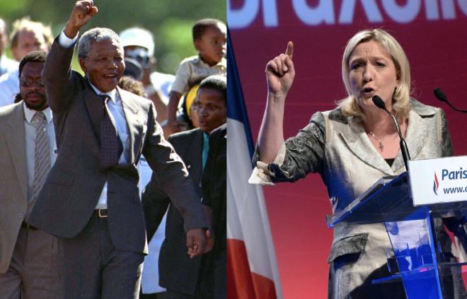National Front FN 'Terrorist' Nelson Mandela Street Naming Toulon
