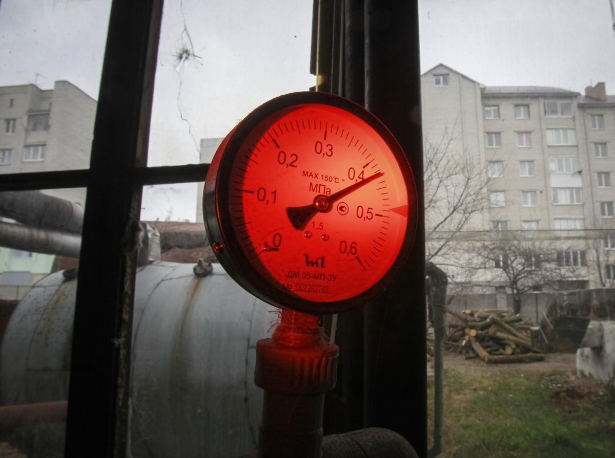 Ukraine pressure gauge