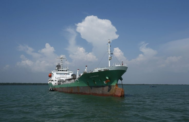 Fuel-laden freighter sinks after collision with chemical tanker in