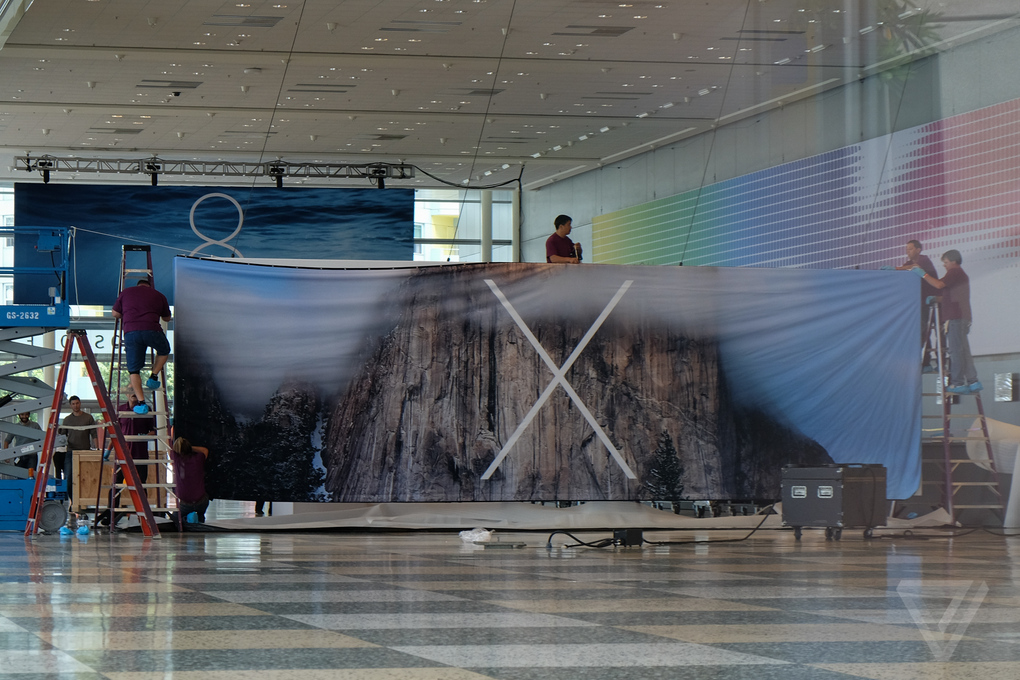 WWDC 2014: New Banner at Moscone Center Tips Name for OS X 10.10