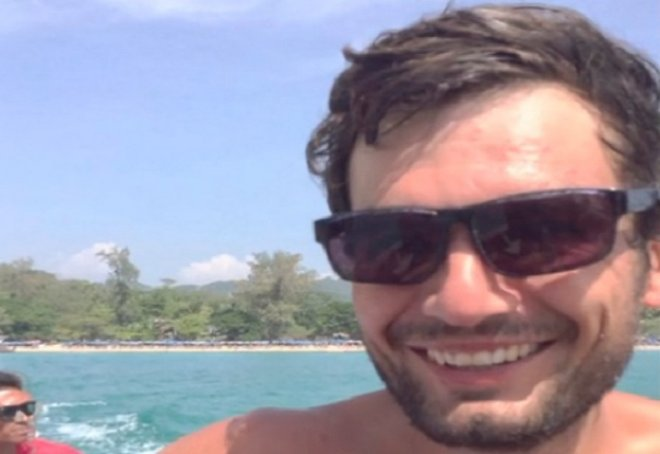 Gareth Huntley has not been seen since heading in to the Malaysian jungle to find a secret waterfall