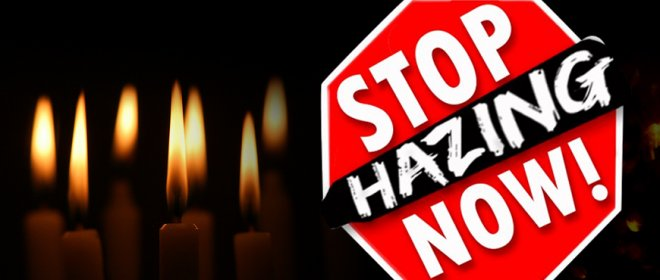 Hazing is a punishable offence with a maximum of 30 days in jail in the US.