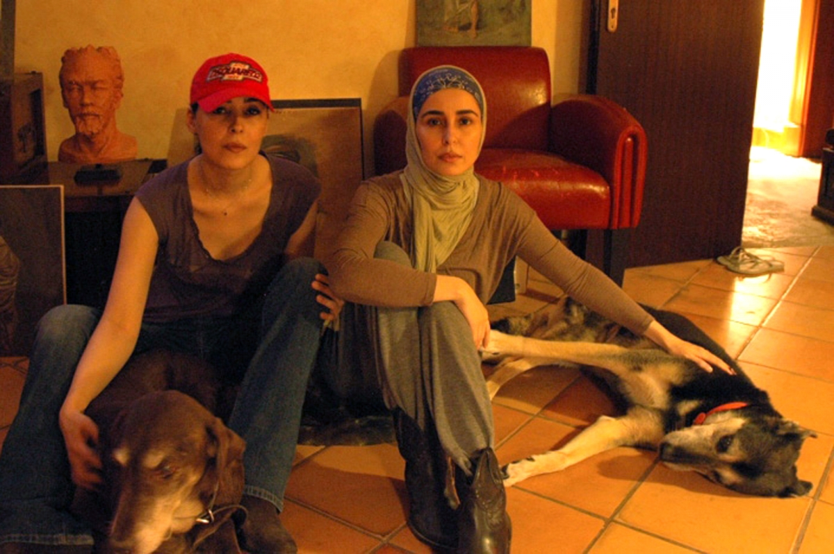 Jawaher (L) and Sahar in a picture released to the media.