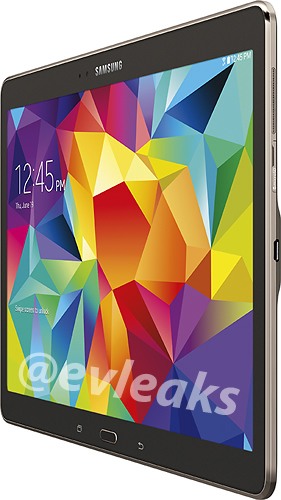 Galaxy Tab S 10.5in Press Images Leak Ahead of Launch