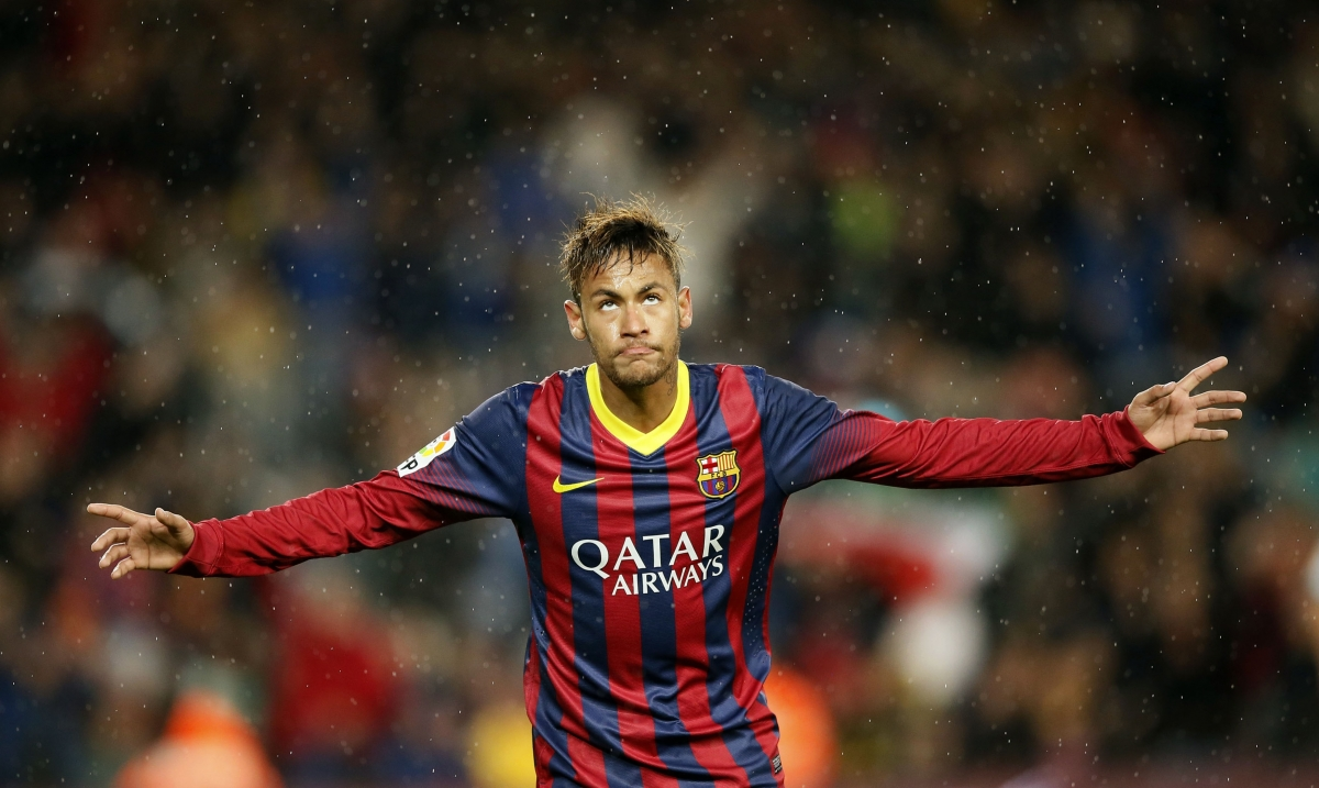 Neymar Barcelona Football